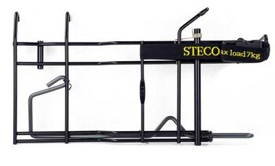 Steco Buggy-Mee De Luxe Zwart *NIEUW*